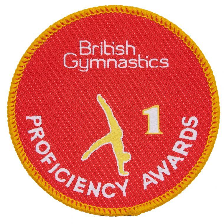 British Gymnastics - Badge 1