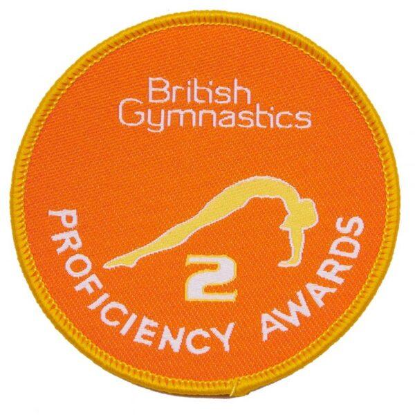 British Gymnastics Badge 2