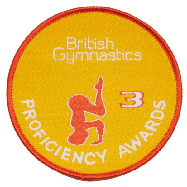 British Gymnastics Badge 3