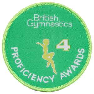 A British Gymnastics Badge 4