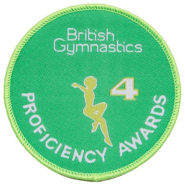 A British Gymnastics Badge 4