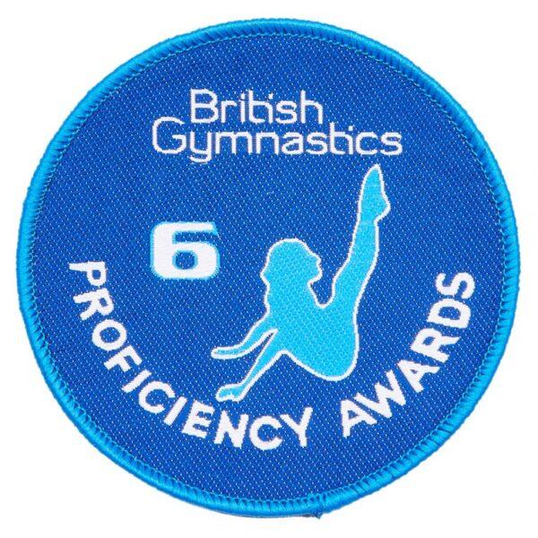 A British Gymnastics Badge 6