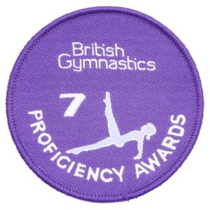 A British Gymnastics Badge 7