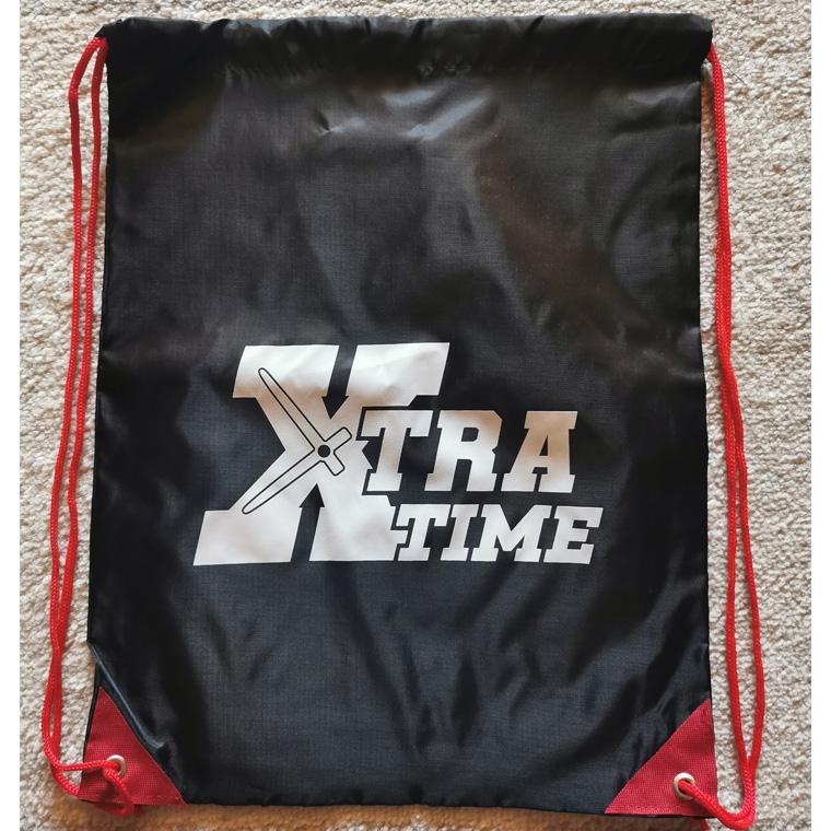 Xtra Time Drawstring Bag
